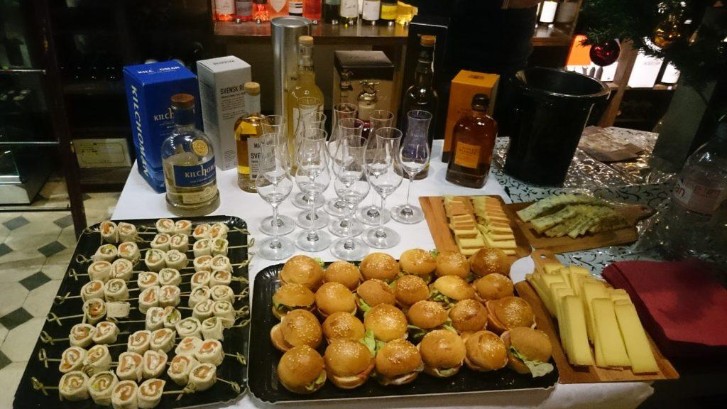 Soirée dégustation de whiskys du monde