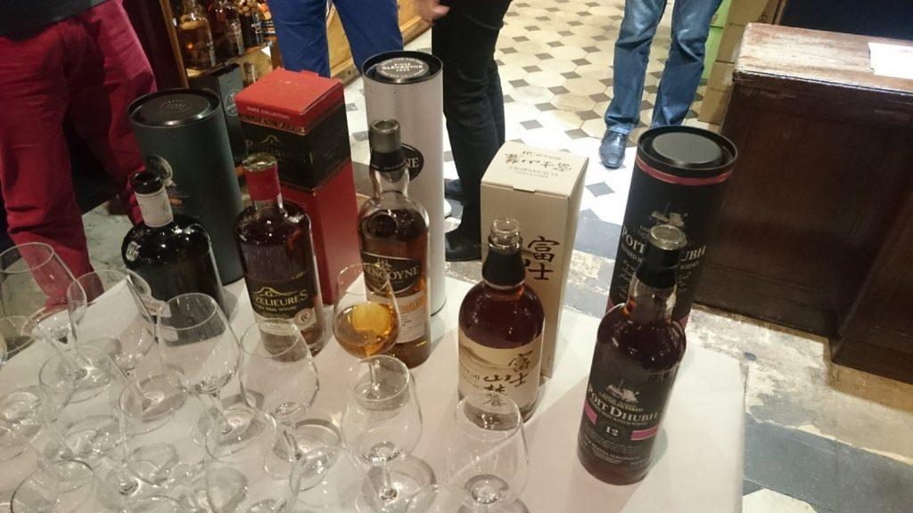 Dégustation whiskys