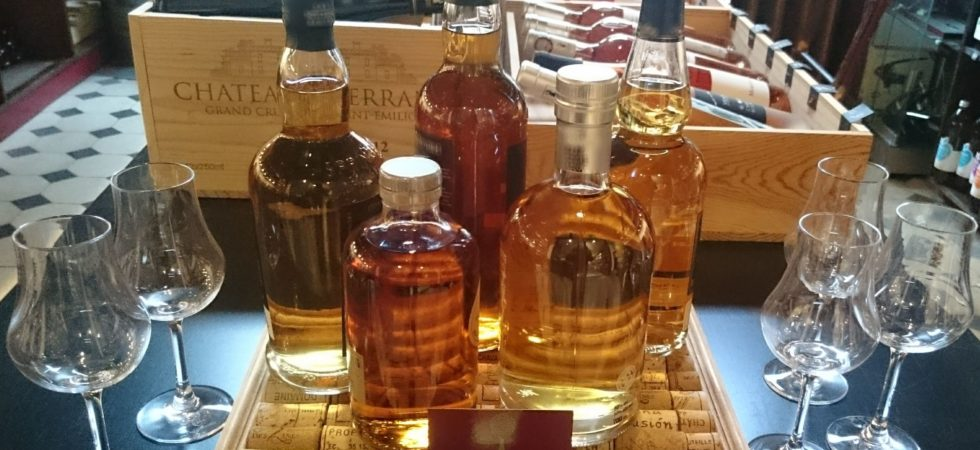 Dégustation de whiskys