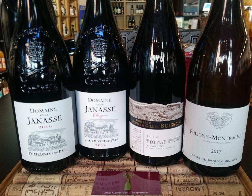 Janasse, Buisson et Miolane